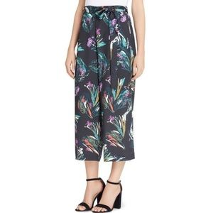 Catherine Malandrino tropical print trouser